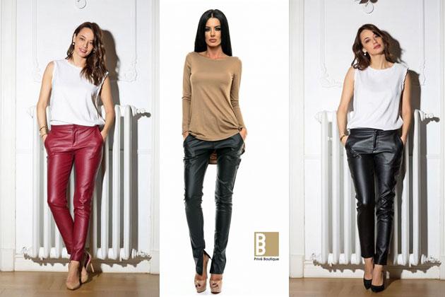Pantaloni XXL. Moderni și confortabili! În pantalonii XXL, fiecare femeie se va simți atractivă și stilată. Maschează silueta plinuță și subliniază formele feminine.